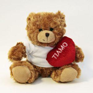 eddy Tim alt.ca. 200 mm completo di t-shirt personalizzabile e cuore con scritta love