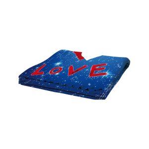 plaid-poliestere-pail-love-blu-100x150-cm-prestampato-con-area-stampabile